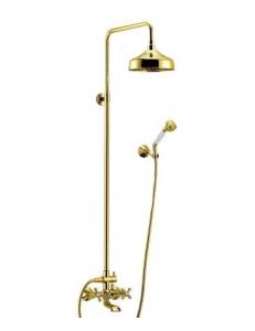 Душевая система Cezares Retro CVD2-03 Золотая