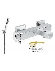 Смеситель для ванны с душем Cezares Legend-VDM-03/24 золото