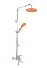 Душевая система Kaiser SX2060-3 Оранжевая